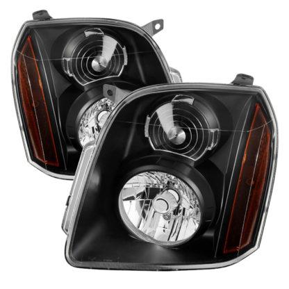 ( xTune ) GMC Yukon/Yukon XL/Yukon Denali  07-14 OEM Headlights - Black