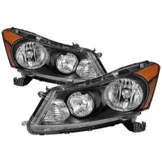 ( xTune ) Honda Accord 08-12 Sedan Only OEM Style Headlights – Black