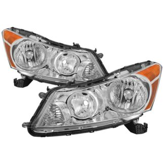 ( OE ) Honda Accord 08-12 Sedan Only OEM Style Headlights - Chrome