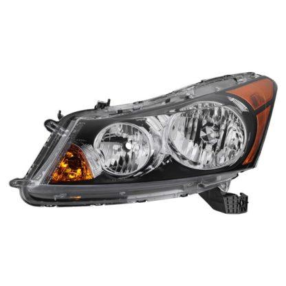 ( OE ) Honda Accord 08-12 4Dr Crystal Headlights - OEM Left