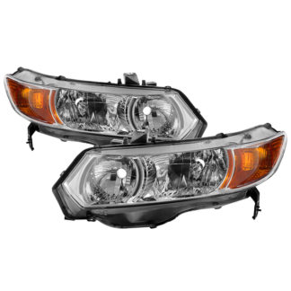 ( OE ) Honda Civic 06-11 2dr Coupe ( Don't Fit Sedan ) OEM Style Headlights - Chrome