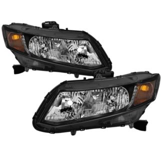 ( xTune ) Honda Civic 2012-2015 ( Does Not Fit Hybrid Models) OEM Style Headlights -Black