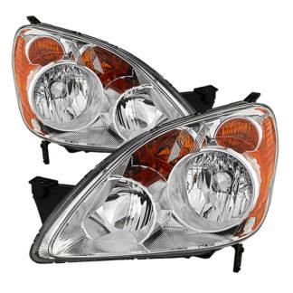( OE ) Honda CRV (Japan Built Models Only) 2005-2006 ( Don't Fit UK Built Models ) OEM Style Headlights – Chrome