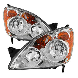 ( OE ) Honda CRV (UK Built Models Only) 2005-2006 ( Don't Fit Japan Built Models ) OEM Style Headlights – Chrome