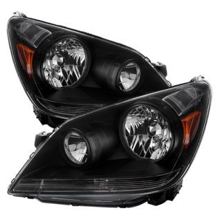 ( xTune )Honda Odyssey 05-10 Crystal Headlights - Black