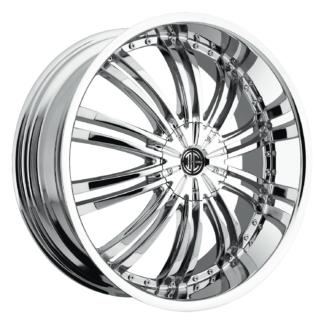 2Crave No. 01 Chrome Custom Wheel