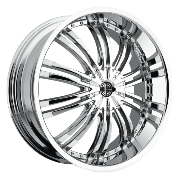 2Crave No. 01 Chrome Custom Wheel