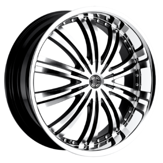 2Crave No. 01 Black Diamond Custom Wheel