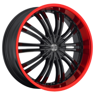 2Crave No. 01 Fiero Red Lip  Custom Wheel