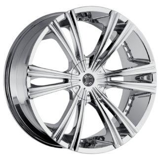 2Crave No. 12 Chrome Custom Wheel