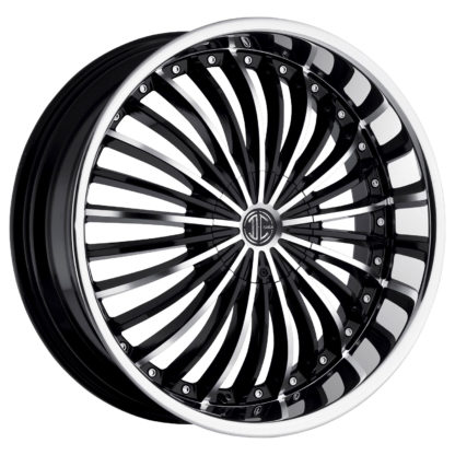 2Crave No. 19 Black Diamond Custom Wheel