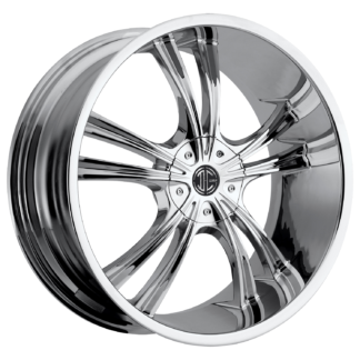 2Crave No. 02 Chrome Custom Wheel