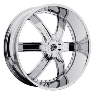 2Crave No. 04 Chrome Custom Wheel