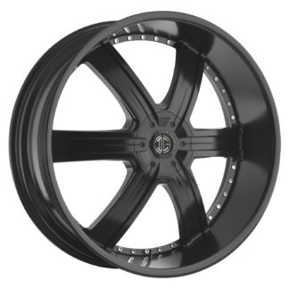 2Crave No. 04 Satin Black Custom Wheel