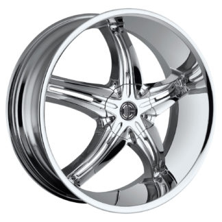 2Crave No. 18 Chrome Custom Wheel