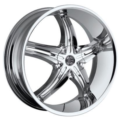 2Crave No. 18 Chrome Custom Wheel