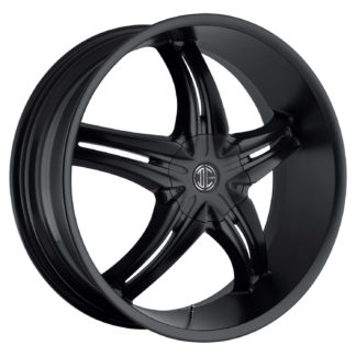 2Crave No. 05 Satin Black Custom Wheel