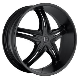 2Crave No. 15 Satin Black Custom Wheel