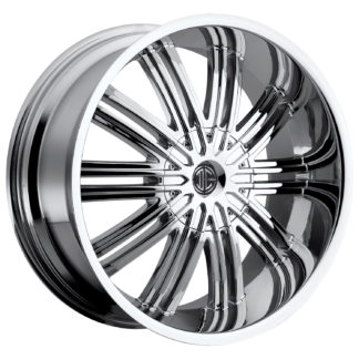2Crave No. 05 Chrome Custom Wheel