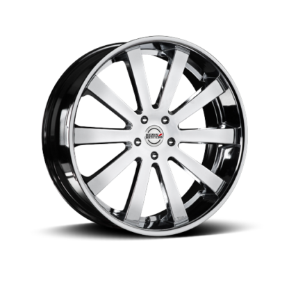 Heavy Hitter HH10 Chrome Wheel