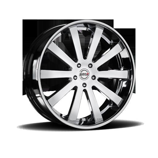Heavy Hitter HH10 Chrome Wheel