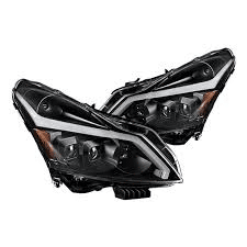 2007 Infiniti G37 Headlights