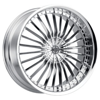 2Crave No. 26 Chrome Custom Wheel