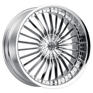 2Crave No. 26 Chrome Custom Wheel