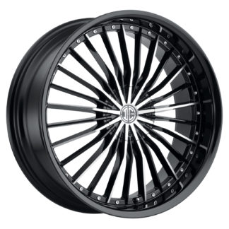 2Crave No. 26 Glossy Black / Machined Face / Custom Wheel