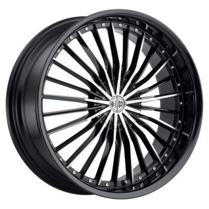 2Crave No. 26 Glossy Black / Machined Face / Custom Wheel