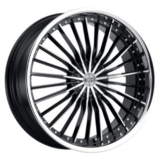2Crave No. 26 Black Diamond Custom Wheel