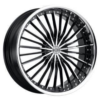 2Crave No. 26 Black Diamond Custom Wheel
