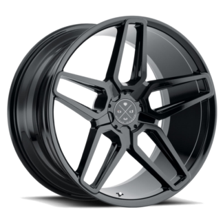 Blaque Diamond Wheel / Model BD-17 - 5 Lug/ Glossy Black