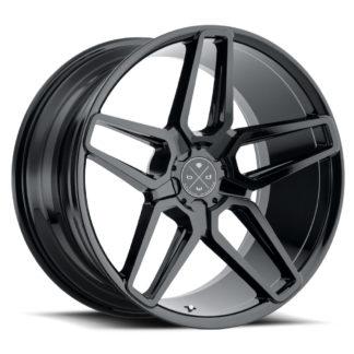 Blaque Diamond Wheel / Model BD-17 - 5 Lug / Glossy Black