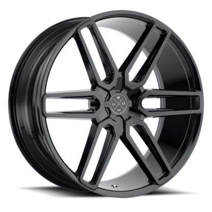 The Blaque Diamond Model 17-6 Custom Wheel presents a destinct innovative style to seperate your vehicle from the rest. Blaque Diamond Wheels are designed in the U.S.A. and offered globally to high-end luxury
