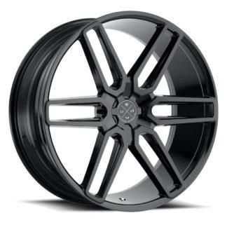 Blaque Diamond Wheel / Model BD-17 - 6 Lug / Glossy Black
