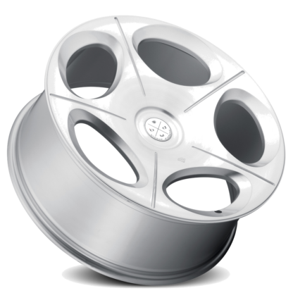 Blaque Diamond Wheel / Model BD-77 Silver w/Brushed Face