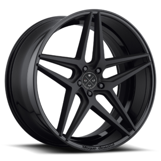 Blaque Diamond Wheel / Model BD-8  Two Tone Black