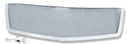 Mesh Grille 2007-2014 Cadillac Escalade  Main Upper Chrome Not Fit Platinum And Hybrid Models