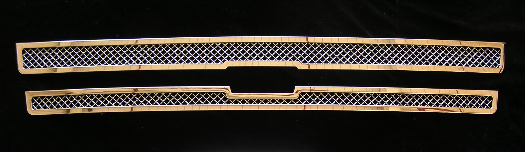 Mesh Grille 2002-2005 Chevy Trailblazer SS Main Upper Chrome