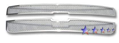 Mesh Grille 2005-2008 Chevy Uplander  Main Upper Chrome