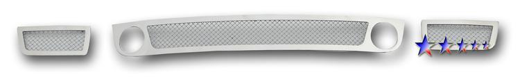 Mesh Grille 2006-2009 Chevy Trailblazer SS Lower Bumper Chrome