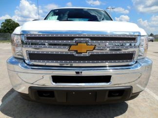 GR03LEA73H 1.8mm Wire Mesh Rivet Style Grille 2011-2014 Chevy Silverado 2500/3500