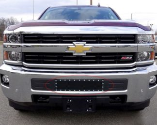 GR03LFC19H 1.8mm Wire Mesh Rivet Style Grille 2015-2018 Chevy Silverado 2500HD