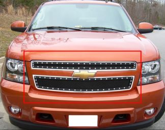 GR03LFD51H 1.8mm Wire Mesh Rivet Style Grille 2007-2014 Chevy Avalanche