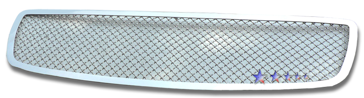 Mesh Grille 2005-2010 Dodge Charger  Main Upper Chrome 1 PC Cover All