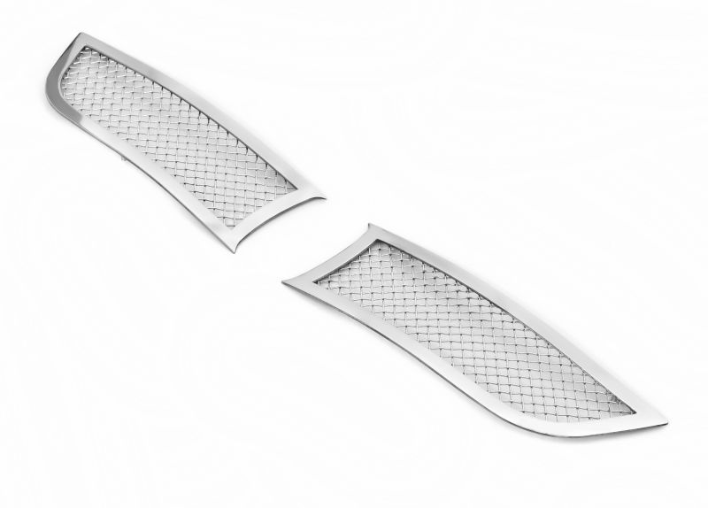 Mesh Grille 2015-2018 Dodge Charger  Lower Bumper Chrome With Adaptive Cruise Control (Not For Model DAYTONA or RT SCAT PACK)