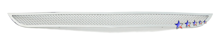 Mesh Grille 2011-2014 Dodge Charger  Lower Bumper Chrome Not For SRT Model And Adaptive Speed Control(NHP) Package