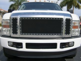 GR06LEA71H 1.8mm Wire Mesh Rivet Style Grille 2008-2010 Ford F-450