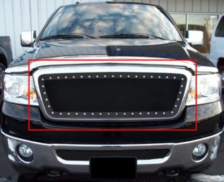 GR06LEH15H 1.8mm Wire Mesh Rivet Style Grille 2004-2008 Ford F-150